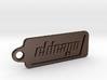 Chicago, Illinois Keychain 3d printed