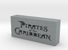 Pirates of the Caribbean Logo 3d printed