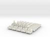 Base Catan White Piece Set 3d printed