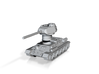 T34-85 Rotatable turret 3d printed
