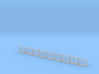 LU4cable Posts Normal Height 3d printed