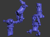 Soda Jerks (MOGITE) 3d printed Renders showing from two angles.