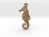 Seahorse Pendant 3d printed