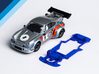 1/32 Carrera Porsche RSR Chassis for Slot.it AW 3d printed Chassis compatible with Carrera Porsche Carrera RSR Turbo body (not included)
