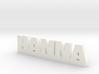HANNA Lucky 3d printed