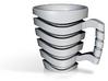 Wave Mug 3d printed