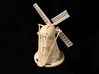 Dutch Windmill 3d printed Back view of Windmill