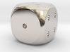 Precious metal dice - platinum, gold or silver 3d printed