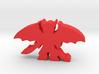 Game Piece, Demon Spread, Wings Sword 3d printed