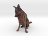 German Shepherd Dog 3d printed