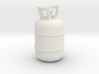 1/20 Scale propane tank 3d printed