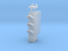HO Triple Transit Signal w/ Number Plate 3d printed