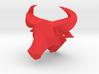 Bull's head trophy 3d printed