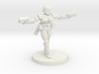 36mm Female Combat Armor 5 3d printed