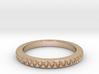Braided Ring Sizes 4 thru 13 3d printed