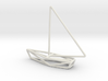 Sailing Boat Scale 1-200 3d printed