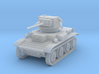 PV170C Tetrarch Light Tank (1/87) 3d printed