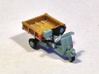 N Scale 1948 Piaggio Ape w/ Open Bed 3d printed 1 model per order, comes unpainted.