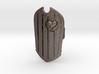 Shielded-heart-slash 3d printed