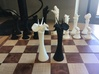 (Chess) Triceratops Queen 3d printed