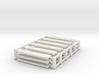 Holzpanele mit Metallfassung für Industriezaun 3d printed