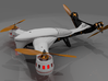 Aerial DRONE Centre Kit DiaLFonZo Vtail Copter 400 3d printed