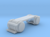 International Day Cab 2 Door Tank 1-87 HO Scale F. 3d printed