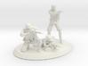 German infantry unit 3d printed