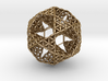 FOL IcosiDodecahedron w/ nested Dodecahedron 3d printed
