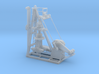 1/64th Small Oil Well Pump Jack and Wellhead 3d printed