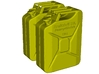 1/15 scale WWII Wehrmacht 20 lt fuel canisters x 2 3d printed