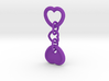 Heart Keychain - CustomMaker 3d printed