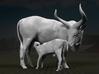 Ankole-Watusi 1:12 Mother and Calf 3d printed