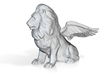 Winged Lion Statue 3d printed