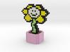 Undertale Flowey Pixel Art 3d printed