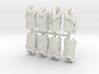 1/30 USN Hanged Kapok Lifevest Set1 3d printed