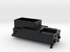 N Tender NS stoomlocomotief 4000/4700 3d printed