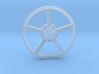 """18"""" Split 5 spoke wheel center 1/12 3d printed"""
