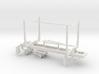 1/50th Mule Train 20' Short log pup trailer 3d printed