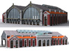 NGG-Mext01a - Large Railway Station 3d printed