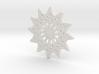 Magic Star Trivet or Coaster (Medium) 3d printed