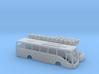 Volvo 9700 bus in Z scale 1:220 3d printed Shapeways Frosted Extreme Detail preview