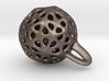 Little funny  earring-pendant 3d printed