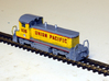 EMD SW1500 Locomotive - Zscale 3d printed Painting and photo thanks to @kevsmithai