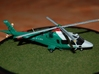 011A Agusta A109 1/144 3d printed A109 in Chilean markings. Model and photos from Michel Anciaux.