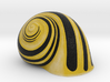 Snail Shell Yellow 3d printed