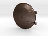 Mogul - Smoke Box Door REV2 .625 Plus 1% 3d printed Baldwin 8-12D Mogul Smoke Box Door with Latch Block