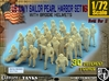 1-72 US Navy Pearl Harbor Set 16 3d printed
