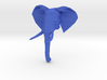 African Elephant Head 3d printed