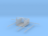 Dredge Bucket W Rigging Z Scale 3d printed Dredge Bucket w rigging z scale
